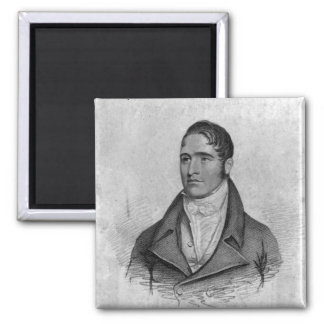 Tom Spring, engraved by Percy Roberts Magnet
