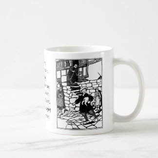 Tom Stole a Pig Nursery Rhyme Coffee Mug