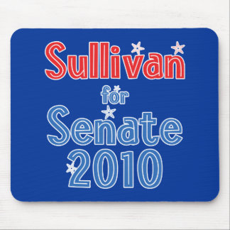 Tom Sullivan for Senate 2010 Star Design Mouse Pad