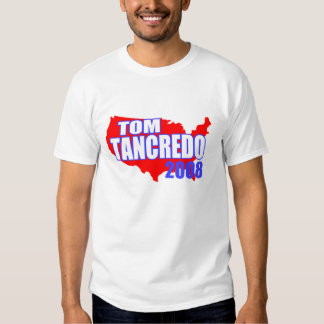 Tom Tancredo Red America 2008 T-shirt