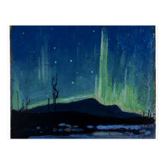 Tom Thomson - aurora boreal Postales