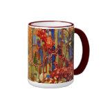 Tom Thomson - Autumn's Garland Ringer Coffee Mug