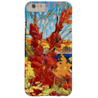 Tom Thomson - follaje del otoño Funda De iPhone 6 Plus Barely There