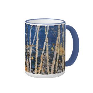 Tom Thomson - lago azul Taza De Café