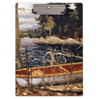 Tom Thomson - The Canoe - 1912 Clipboard