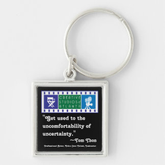 Tom Thon, Get used to the uncomfortability Keychain