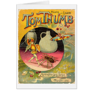 Tom Thumb Book Cover, Greeting Card