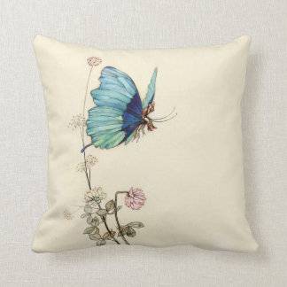 Tom Thumb by Warwick Goble Throw Pillow