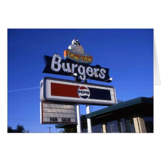 Tom-Tom Burger Yakima Card