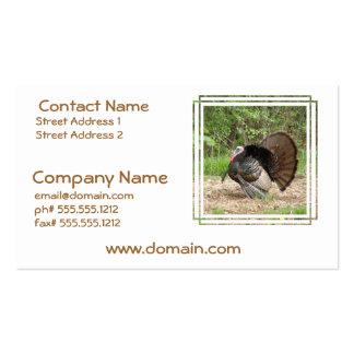 Tom Turkey Business Cards