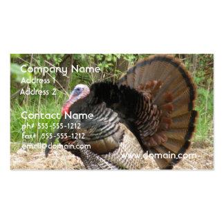 Tom Turkey Business Card