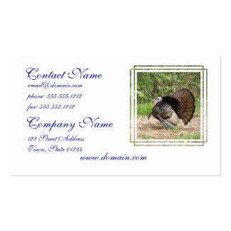 Tom Turkey Business Card Template