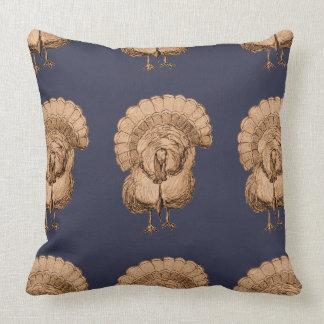 Tom Turkey Pattern on Pillow