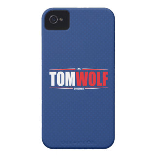 Tom Wolf for PA Governor (Stars & Stripes - Blue) Case-Mate iPhone 4 Cases