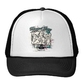 Tom y Jerry Hollywood CA Gorras De Camionero
