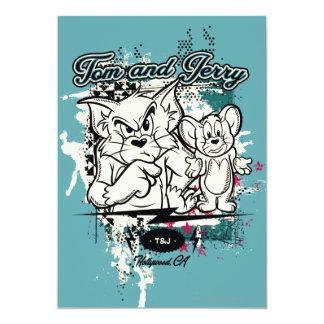 Tom y Jerry Hollywood CA Invitacion Personal