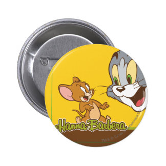 Tom y Jerry Pin Redondo 5 Cm