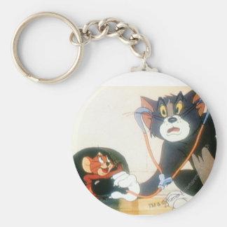 Tom y Jerry Stethescope Llaveros