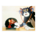 Tom y Jerry Stethescope Tarjetas Postales