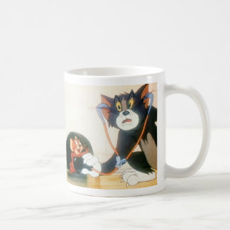 Tom y Jerry Stethescope Taza