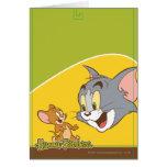 Tom y Jerry Tarjeta De Felicitación