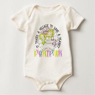 Toma a pueblo el bebé orgánico body para bebé