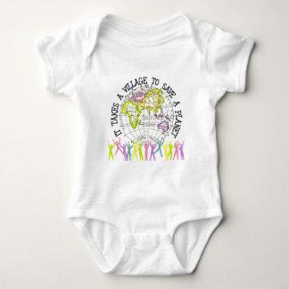 Toma a un bebé del pueblo body para bebé