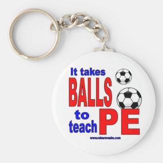 Toma bolas para enseñar al PE Llavero