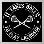 Toma bolas para jugar el poster de LaCrosse