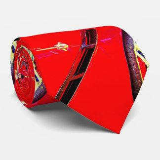 Toma de la rueda del aire de una pastinaca roja corbatas
