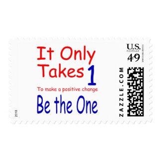 Toma solamente un sello