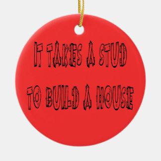 Toma un perno prisionero para construir el navidad ornaments para arbol de navidad