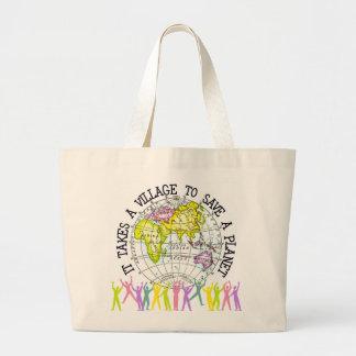 Toma una bolsa de asas de la ecología del pueblo