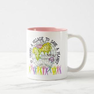 Toma una taza del pueblo