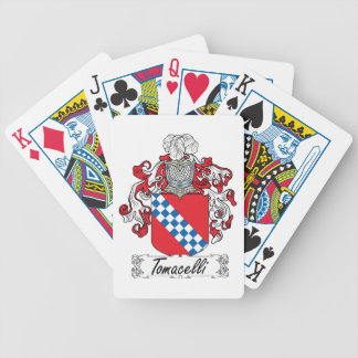 Tomacelli Family Crest Bicycle Card Decks