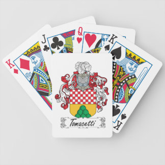 Tomacetti Family Crest Bicycle Card Deck