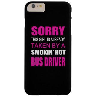 Tomado por un conductor del autobús funda de iPhone 6 plus barely there