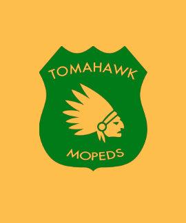 Tomahawk American Crest - Golden Tee Shirt