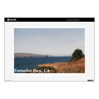 "Tomales Bay CA Decals For 15"" Laptops"