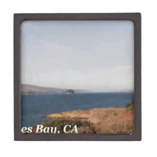 Tomales Bay CA Jewelry Box