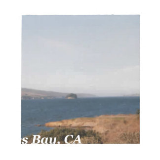 Tomales Bay CA Notepad