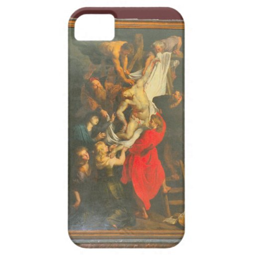 Toman Jesús abajo de la cruz iPhone 5 Carcasas