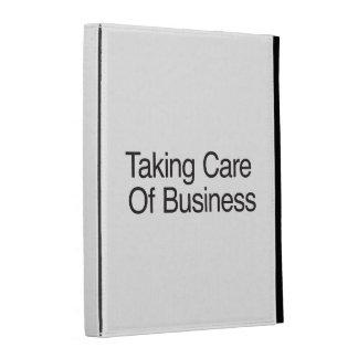 Tomar el cuidado del negocio
