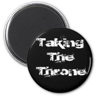 Tomar el imán del trono