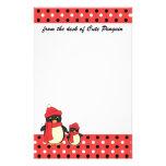 Tomar el pequeño pingüino para un paseo  papeleria