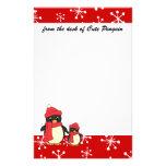 Tomar el pequeño pingüino para un paseo papelería