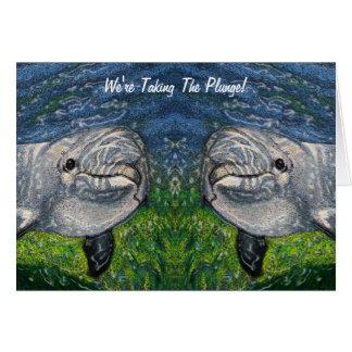 Tomar la zambullida Delfínes Ahorre la fecha ca Tarjeta