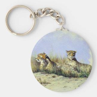 Tomar una rotura guepardos llavero