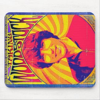 Tomar Woodstock Mousepad Tapete De Ratones