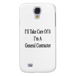 Tomaré el cuidado de él que soy un general